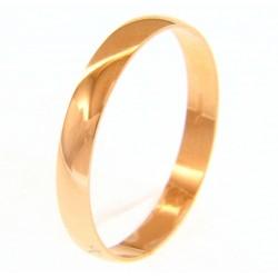 Alianza boda oro rosa