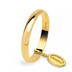 Alianza boda oro amarillo