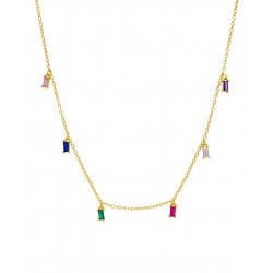 Marea Jewels, collar plata...
